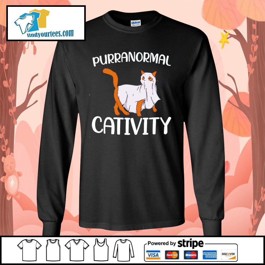 Cat purranormall cativity s Long-Sleeves-Tee