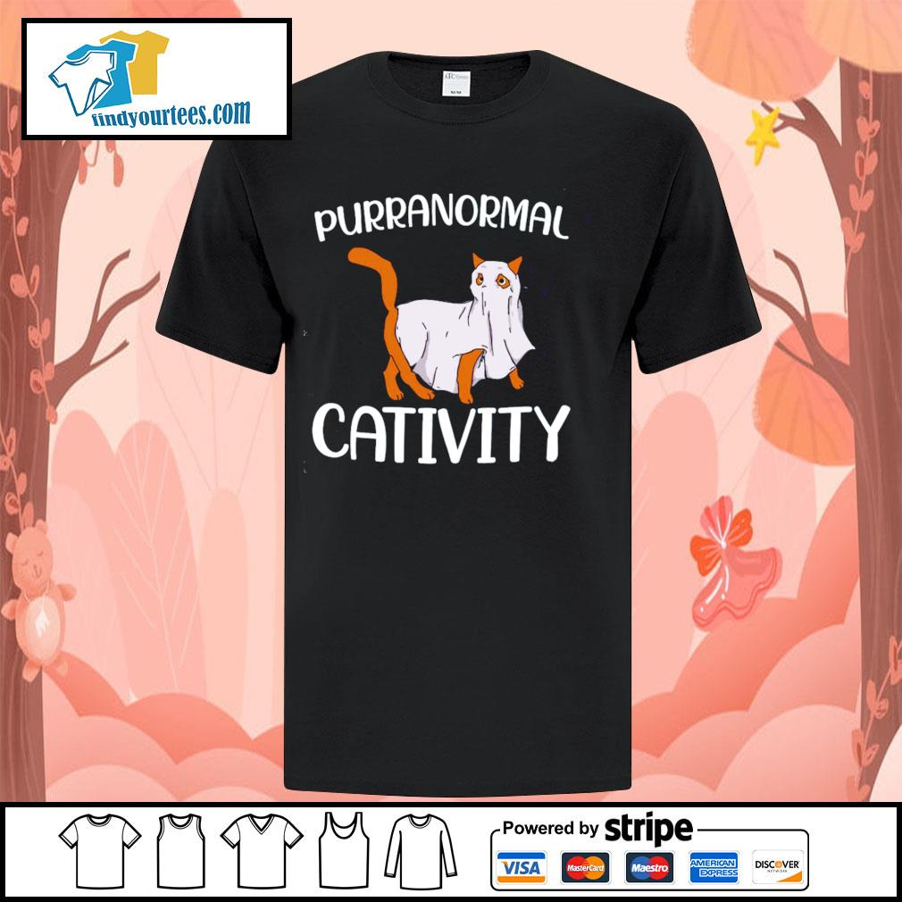 Cat purranormall cativity shirt