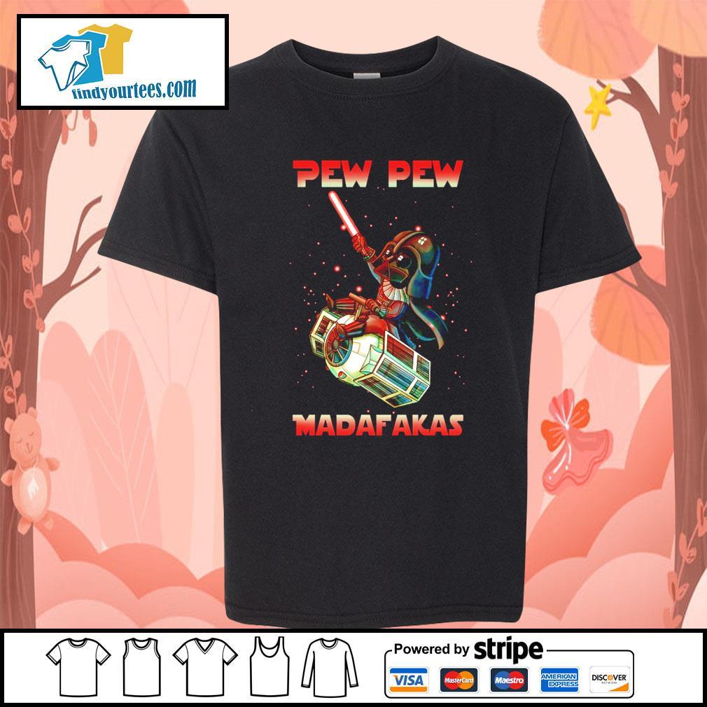 Darth Vader Pew pew madafakas s Kid-T-shirt