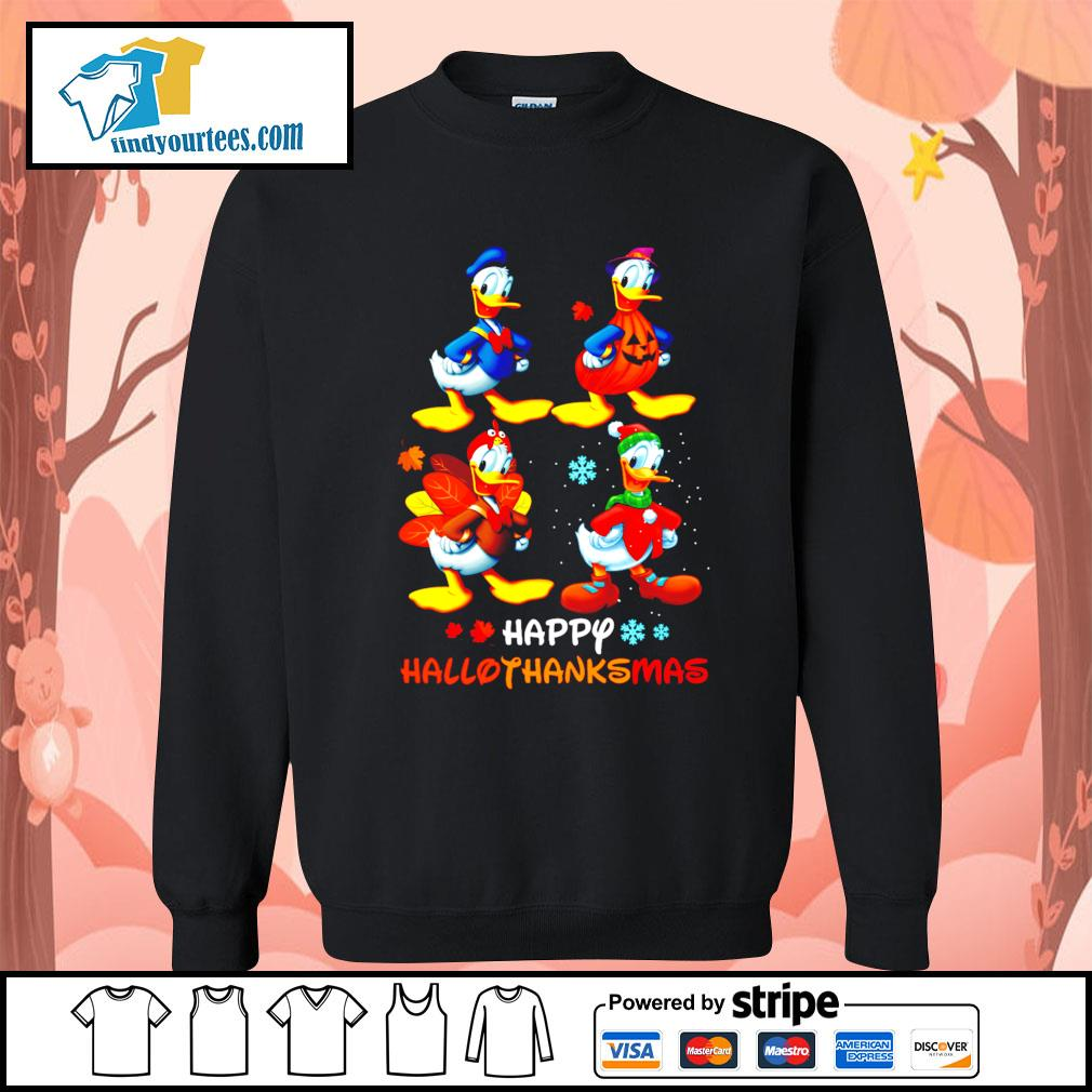 Donald happy Hallothanksmas Halloween s Sweater