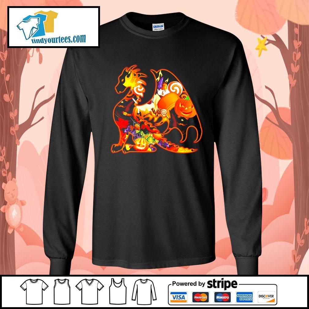 Dragon Happy Halloween s Long-Sleeves-Tee