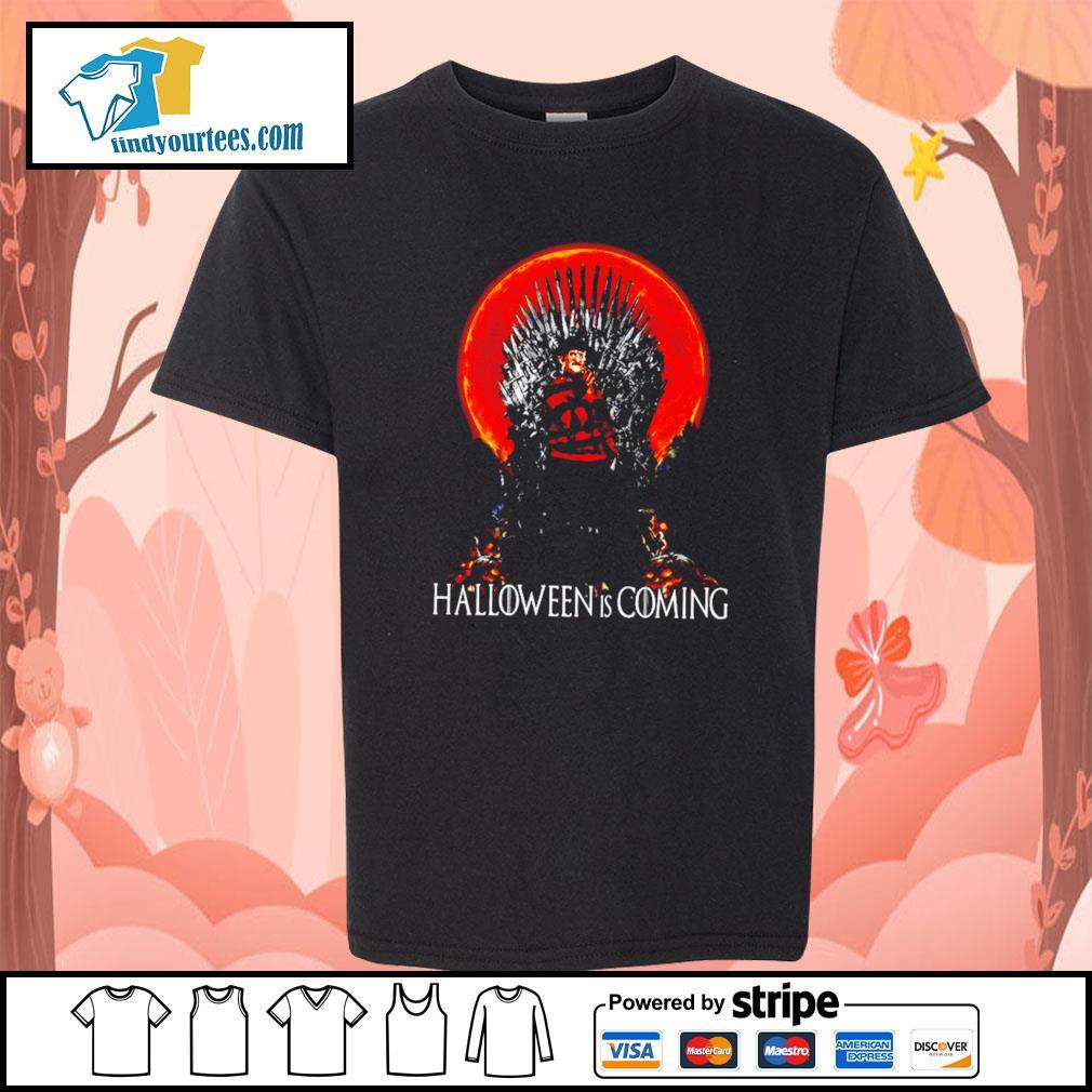 Freddy Krueger Halloween is coming s Kid-T-shirt