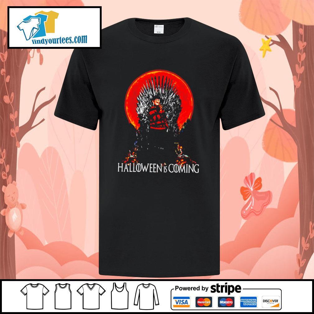 Freddy Krueger Halloween is coming shirt
