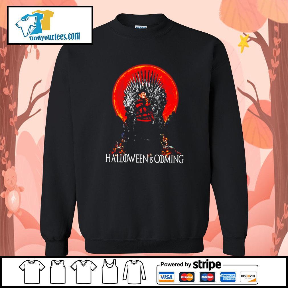 Freddy Krueger Halloween is coming s Sweater