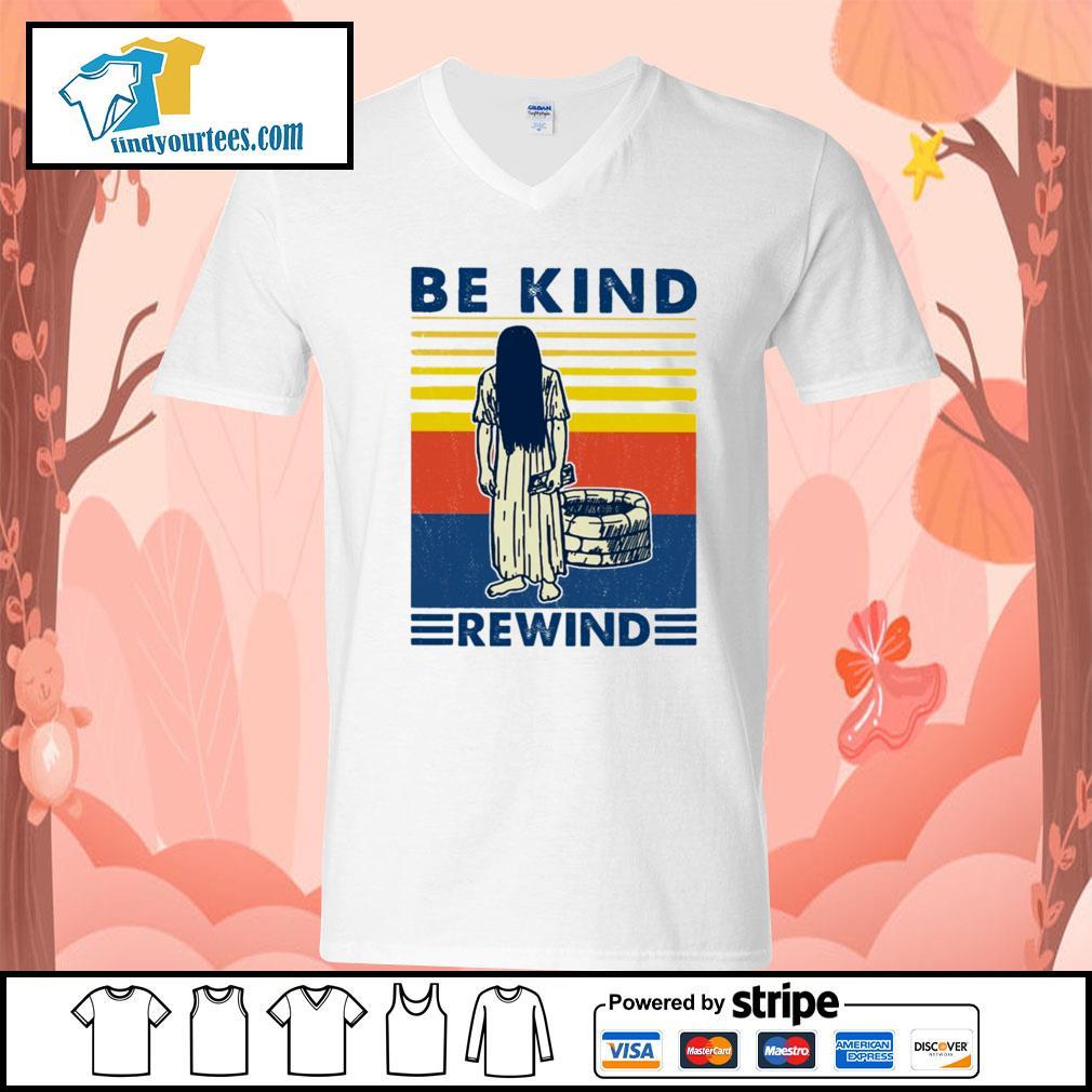 Ghost Be kind rewind vintage s V-neck-T-shirt