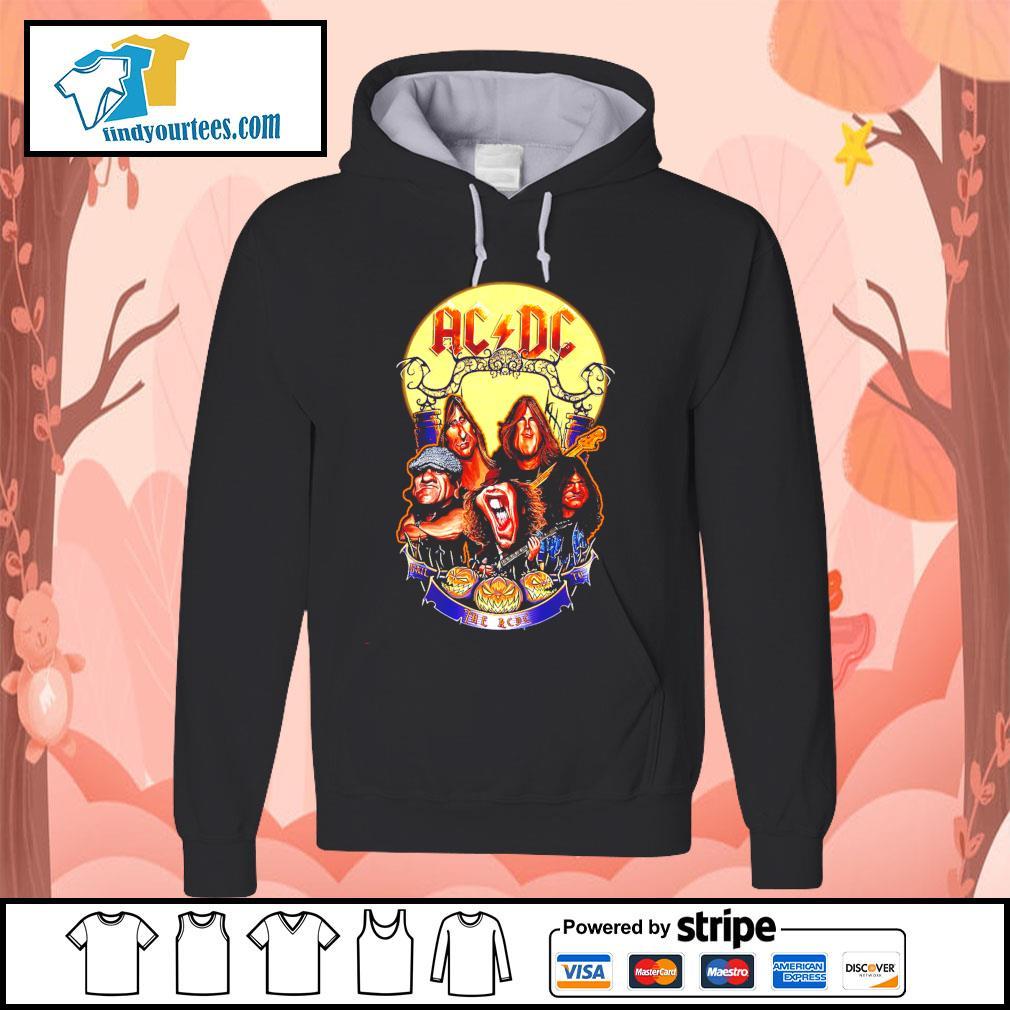 Hail The AC DC to Halloween s Hoodie
