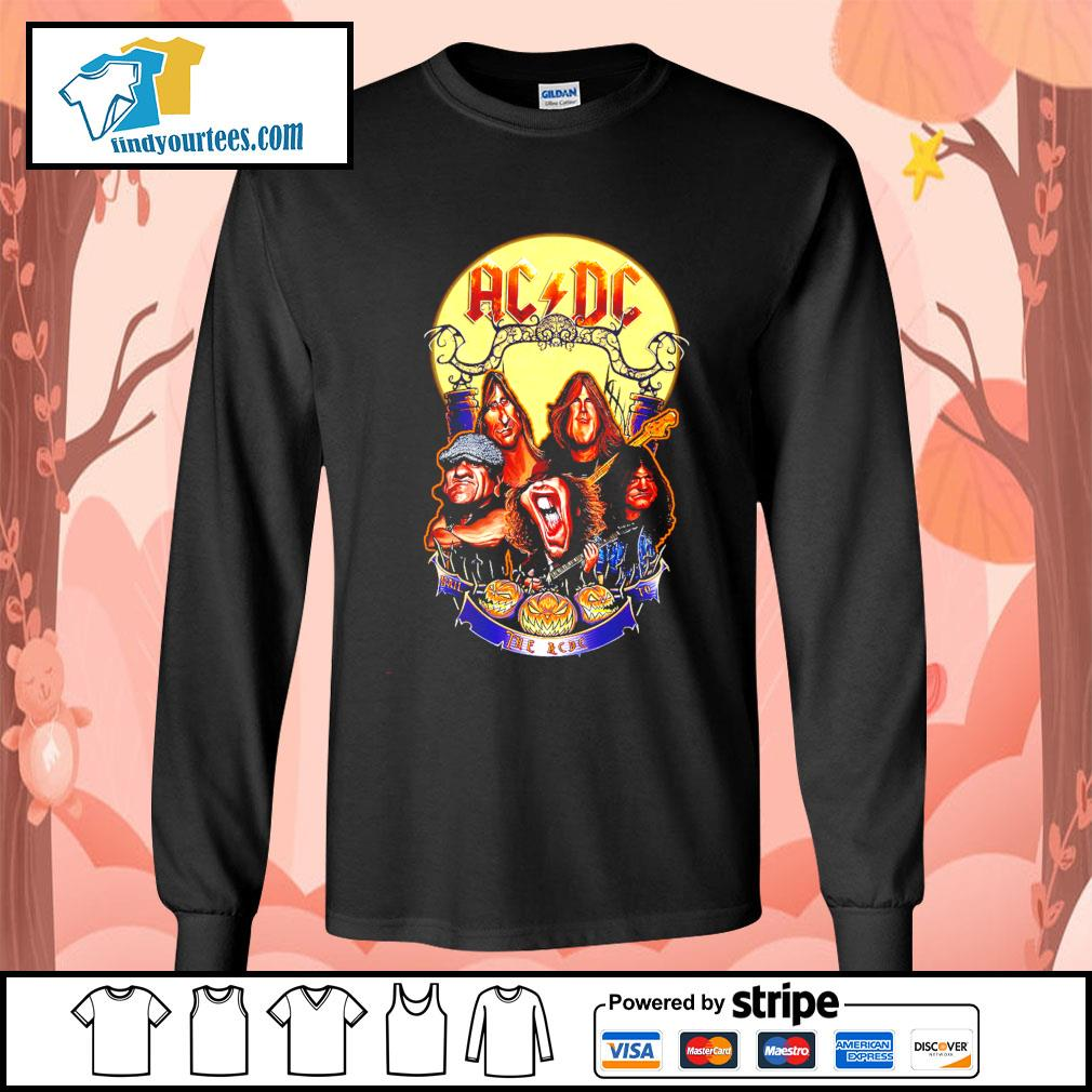Hail The AC DC to Halloween s Long-Sleeves-Tee