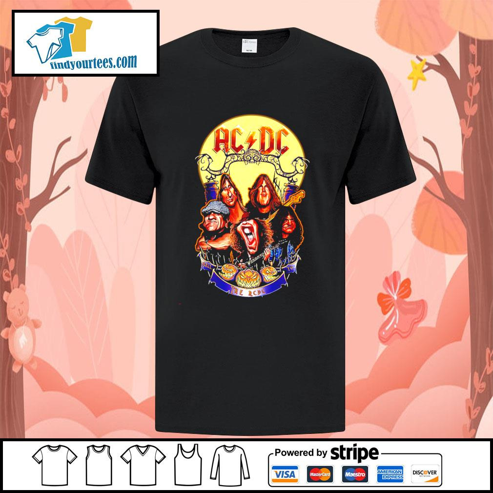Hail The AC DC to Halloween shirt