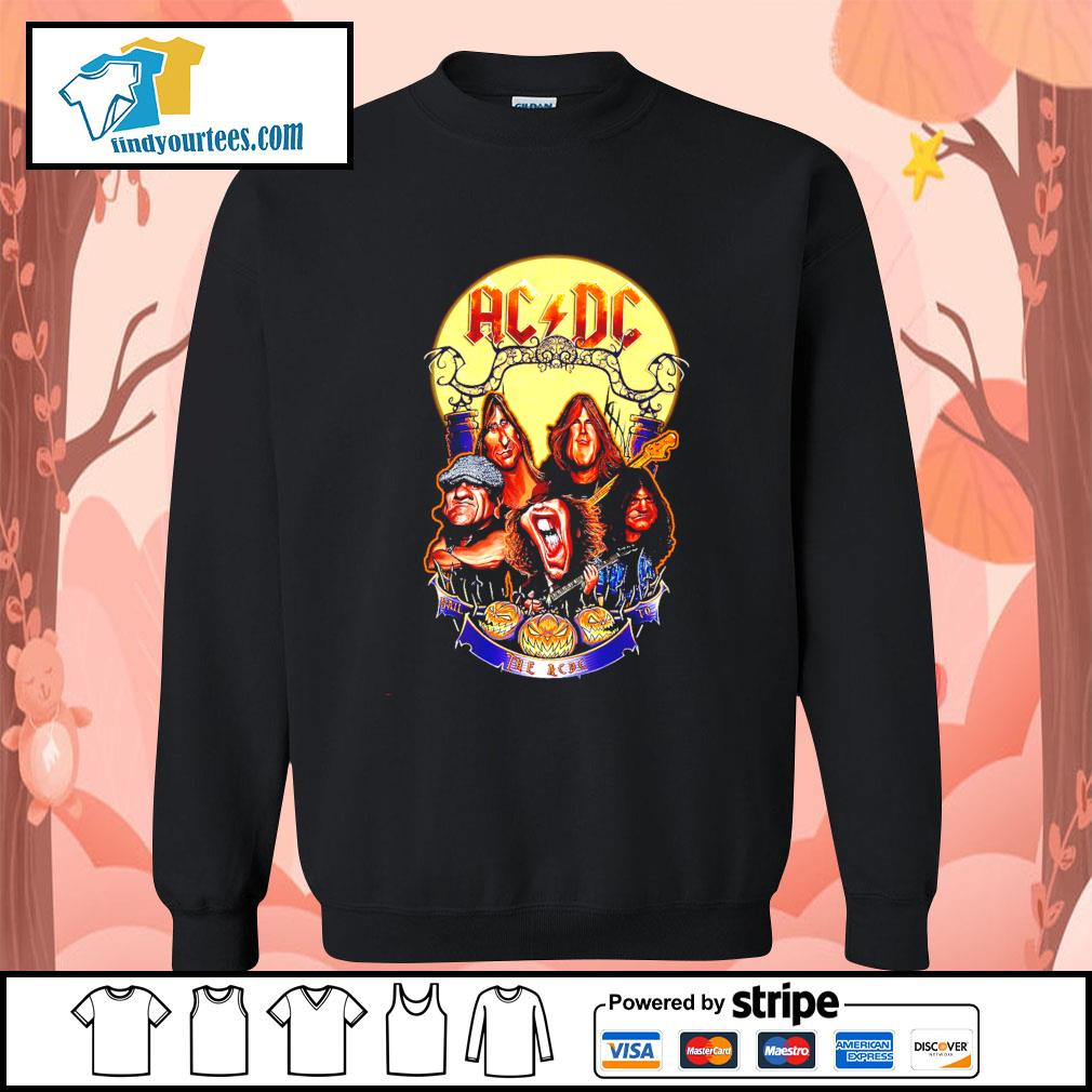 Hail The AC DC to Halloween s Sweater