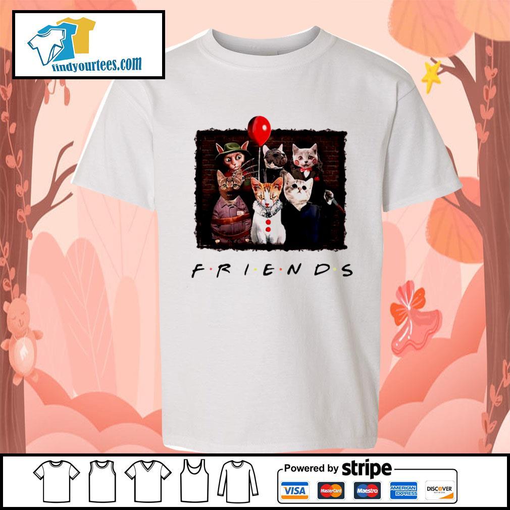 Halloween Friends tv show cat Horror movie character s Kid-T-shirt