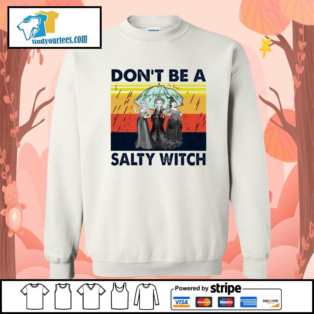 Hocus Pocus don't be a salty witch vintage s Sweater
