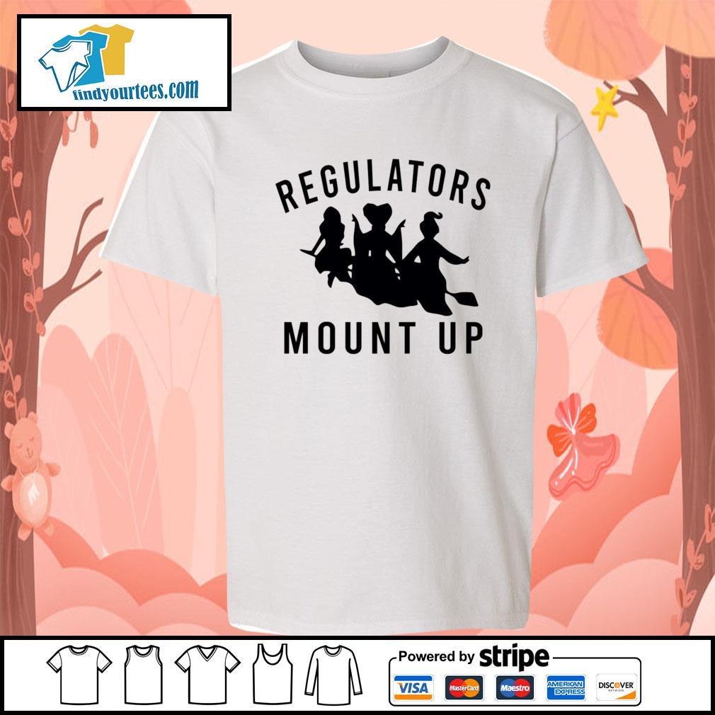 Hocus Pocus Regulators Mount up s Kid-T-shirt
