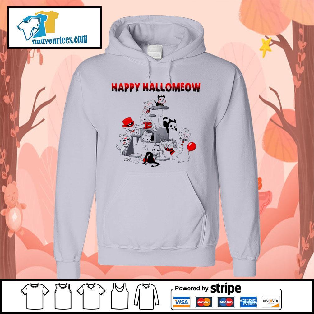 Horror Cats Happy Halloween s Hoodie