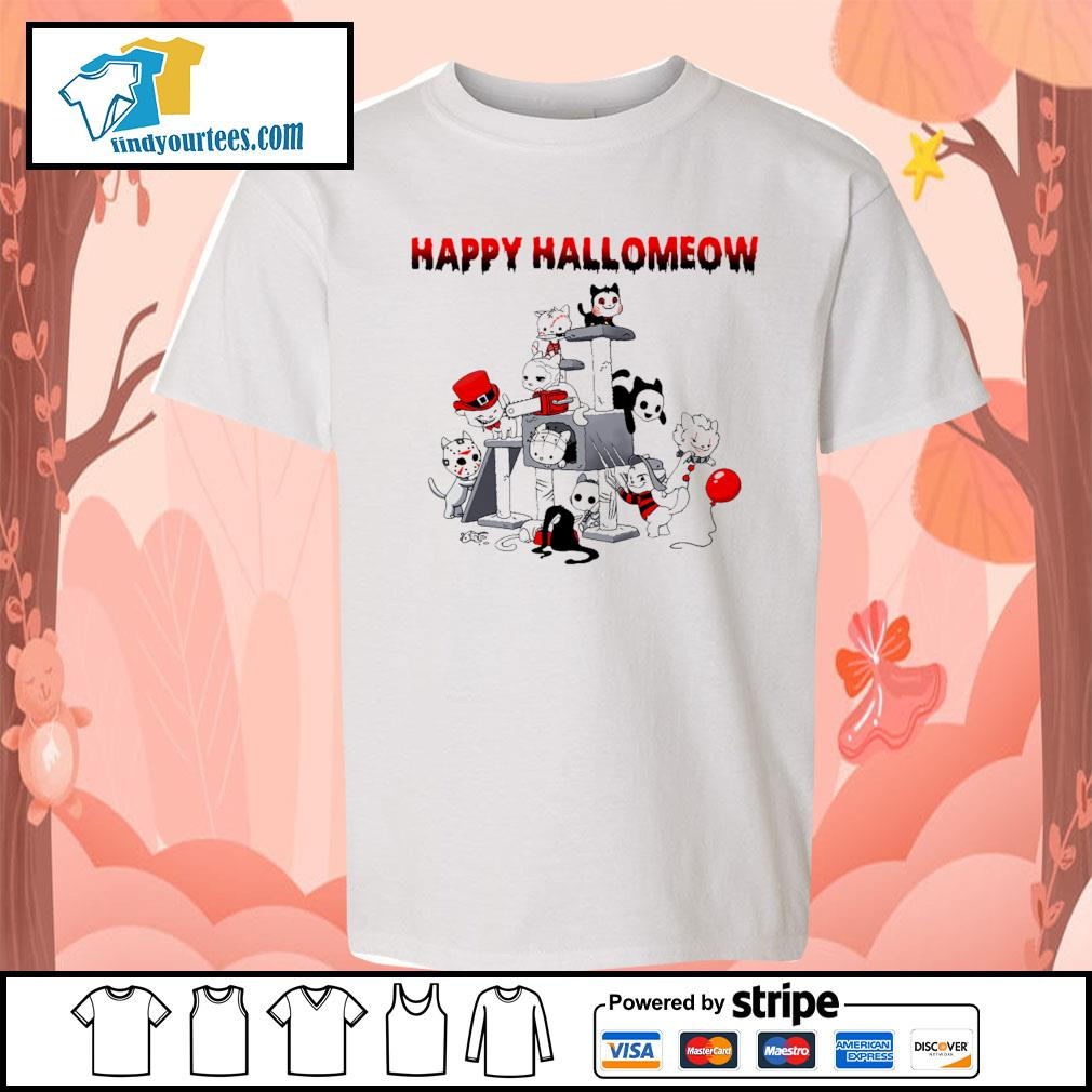Horror Cats Happy Halloween s Kid-T-shirt