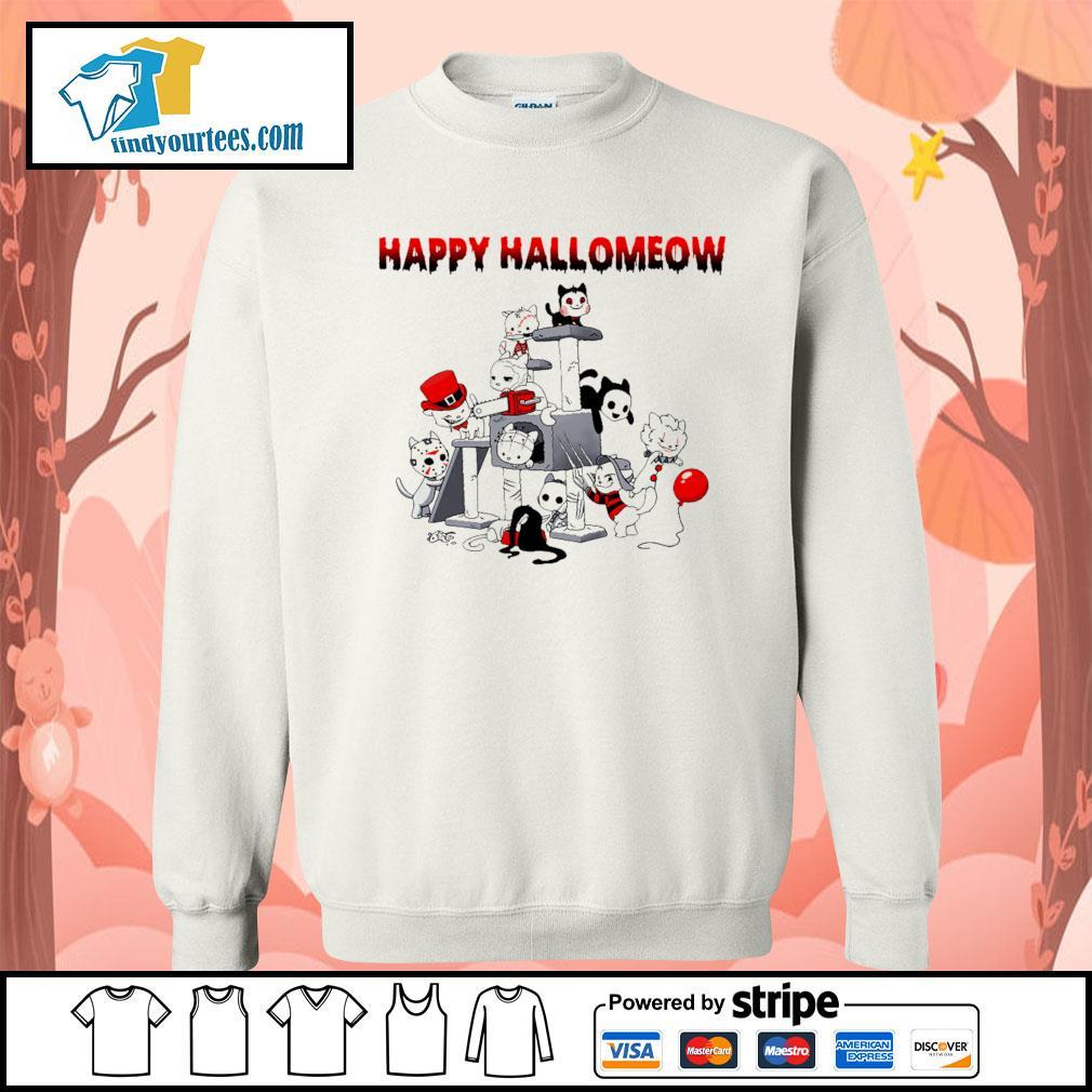 Horror Cats Happy Halloween s Sweater
