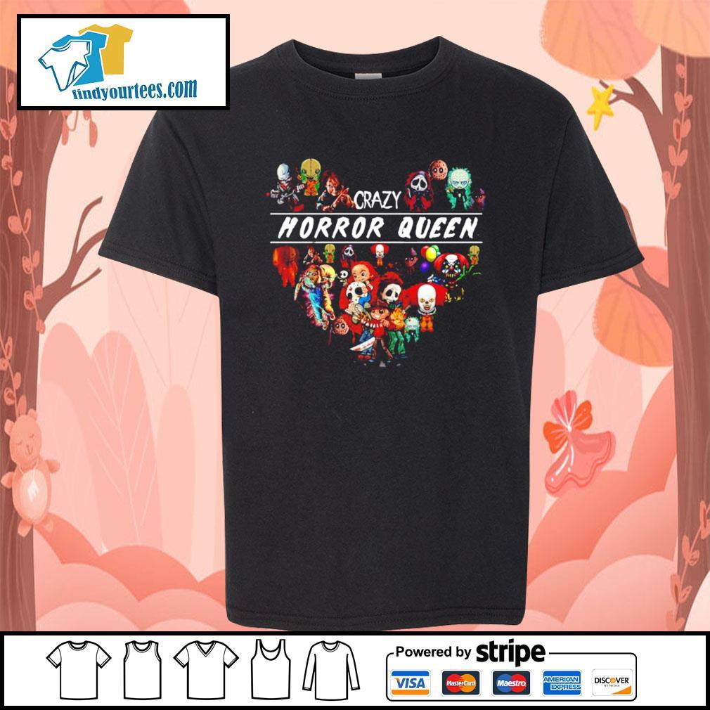 Horror movie characters crazy Horror Queen Halloween s Kid-T-shirt