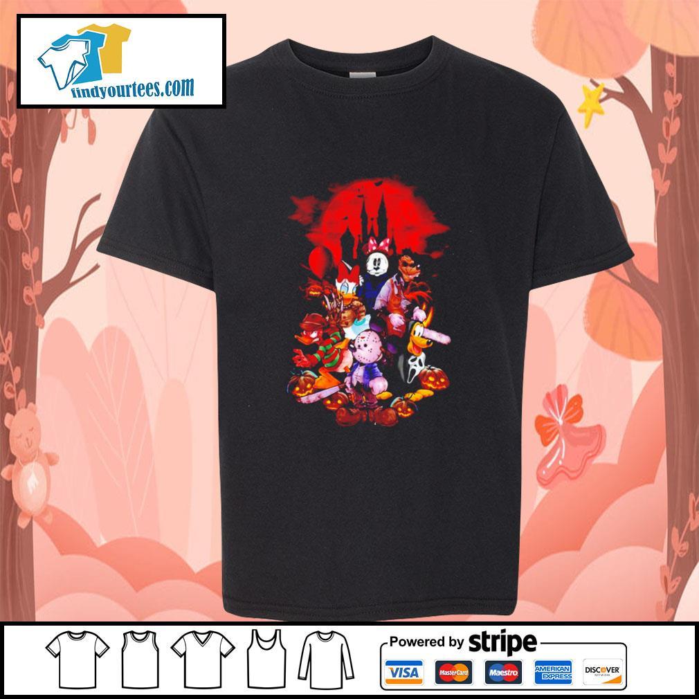 Horror movie characters Disney Halloween s Kid-T-shirt