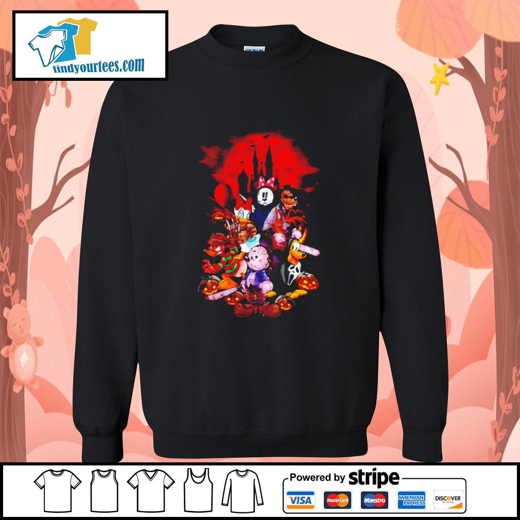 Horror movie characters Disney Halloween s Sweater