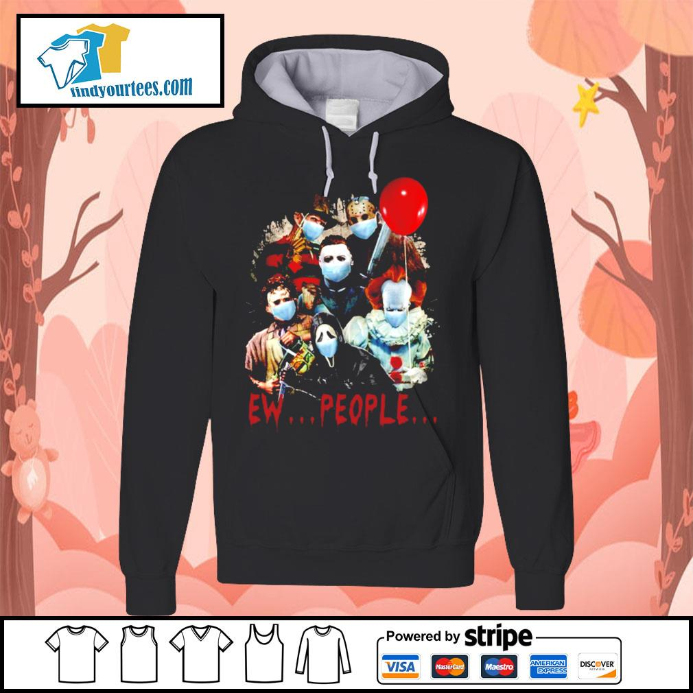 Horror movie characters Ew people s Hoodie