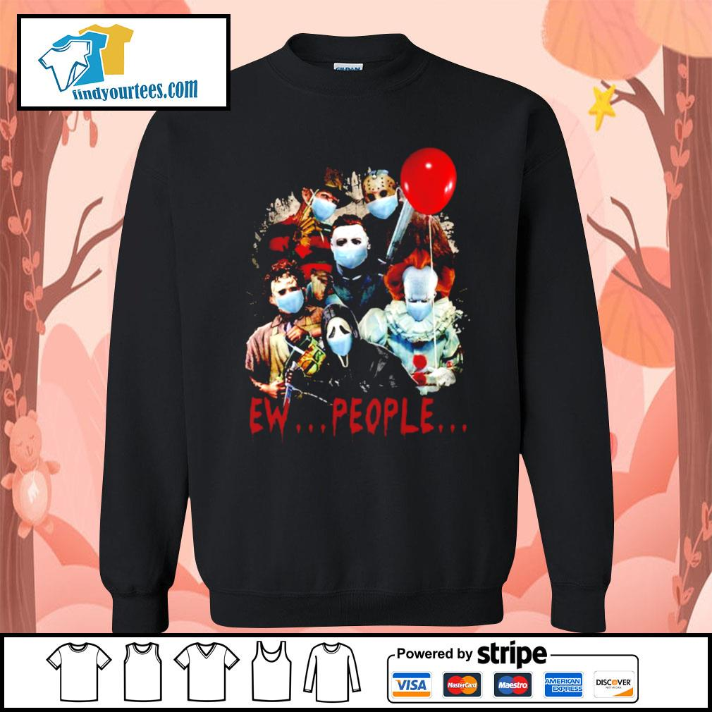 Horror movie characters Ew people s Sweater