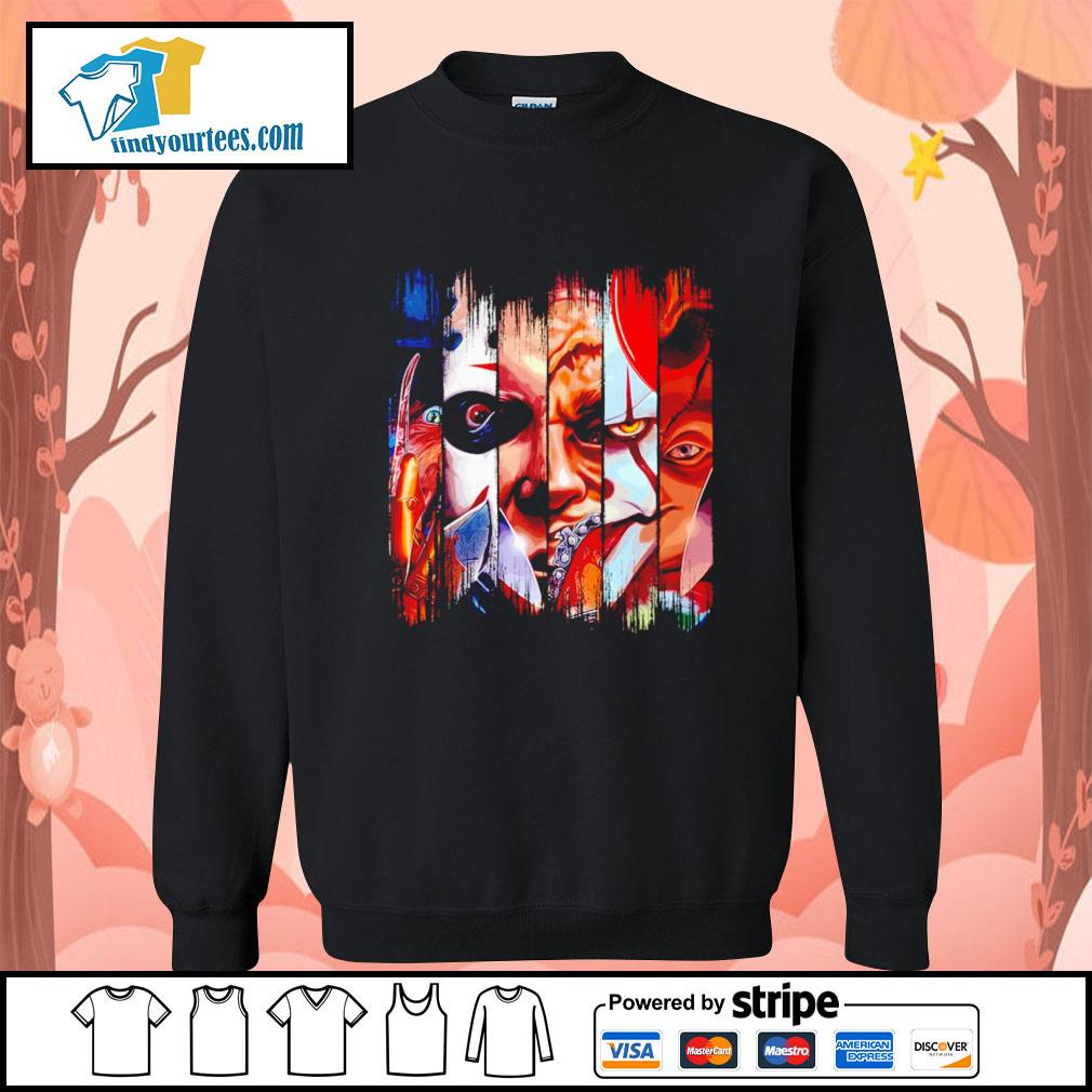 Horror movie characters face Halloween s Sweater