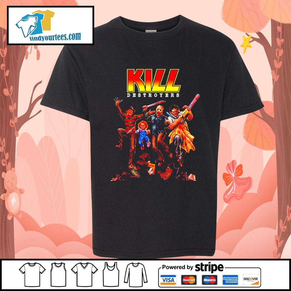 Horror movie characters KILL destroyers s Kid-T-shirt