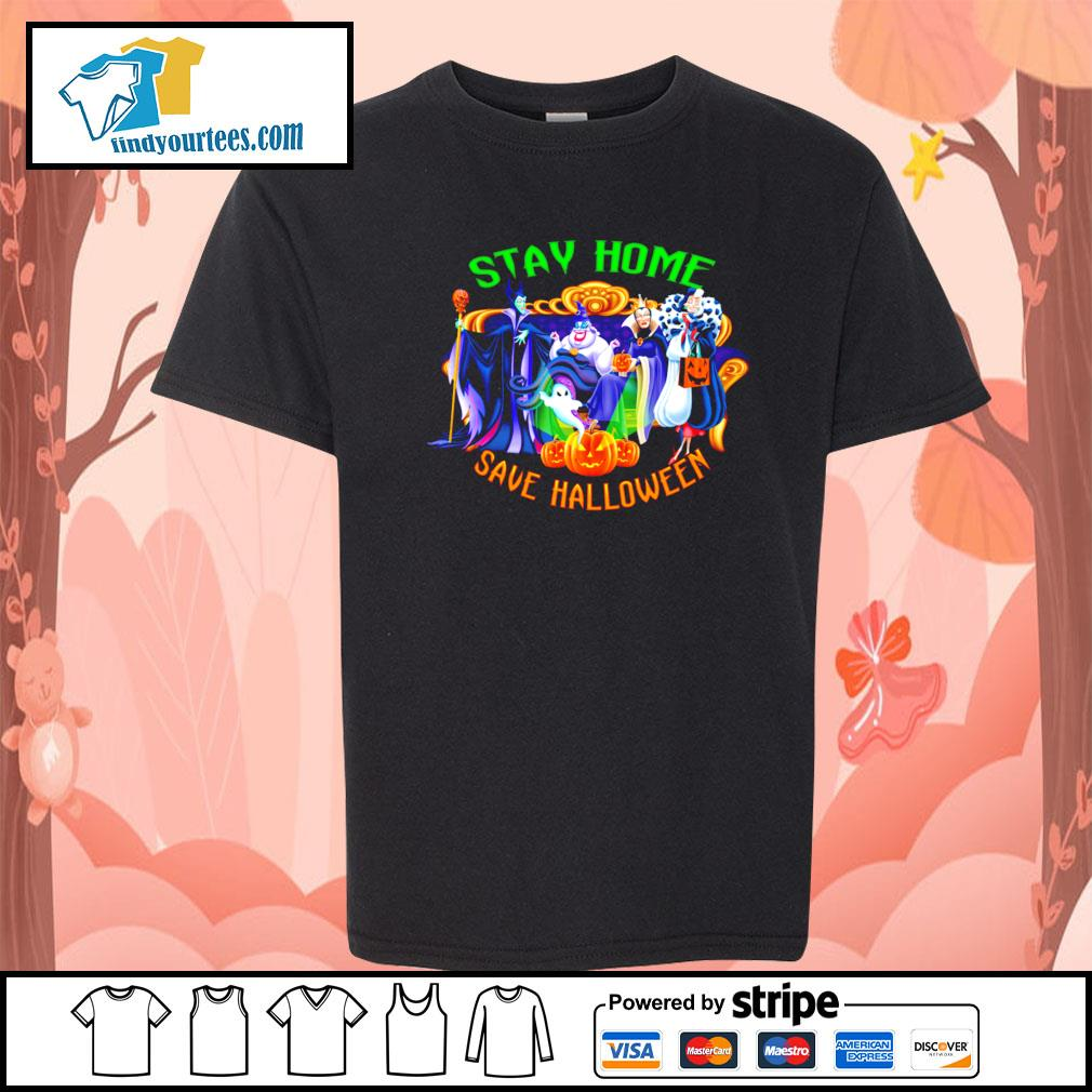 Horror movie characters stay home save Halloween s Kid-T-shirt