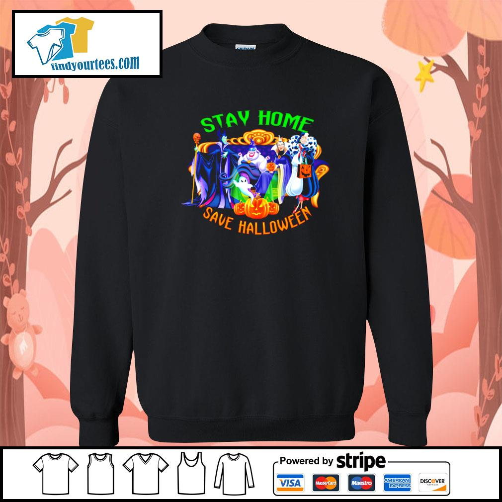 Horror movie characters stay home save Halloween s Sweater