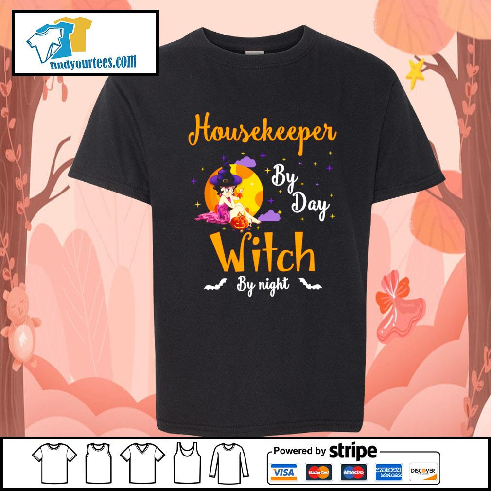 Housekeeper by day witch by night s Kid-T-shirt