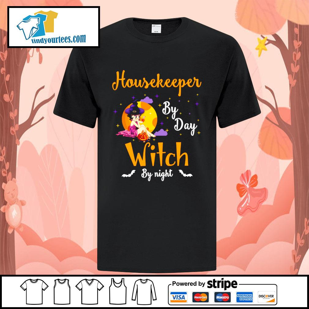 Housekeeper by day witch by night shirt