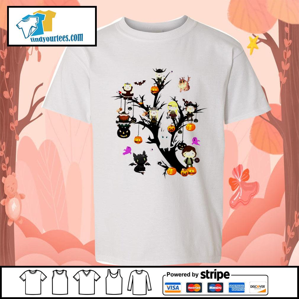 How to Train Your Dragon tree Halloween s Kid-T-shirt