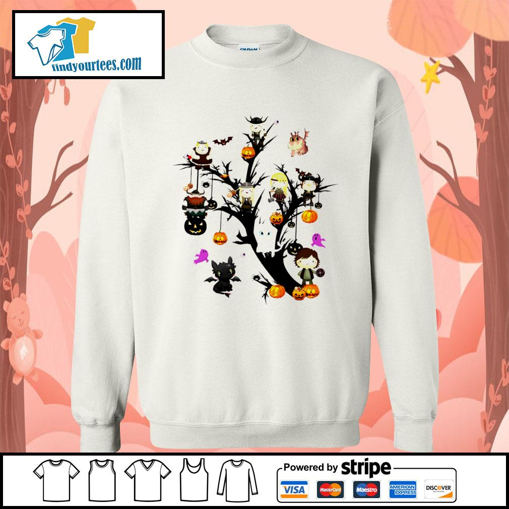 How to Train Your Dragon tree Halloween s Sweater
