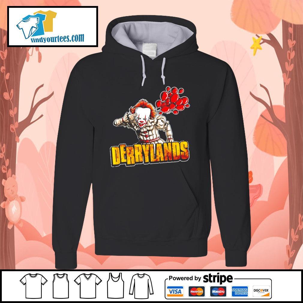 IT Pennywise Derrylands Halloween s Hoodie