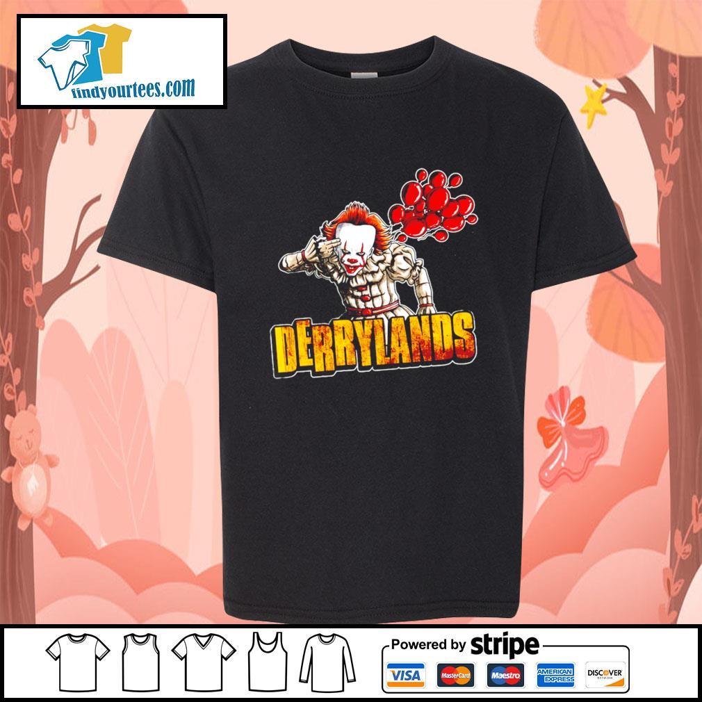 IT Pennywise Derrylands Halloween s Kid-T-shirt