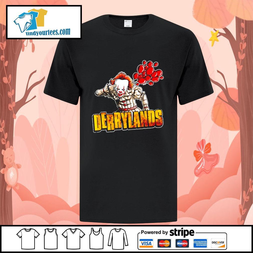 IT Pennywise Derrylands Halloween shirt