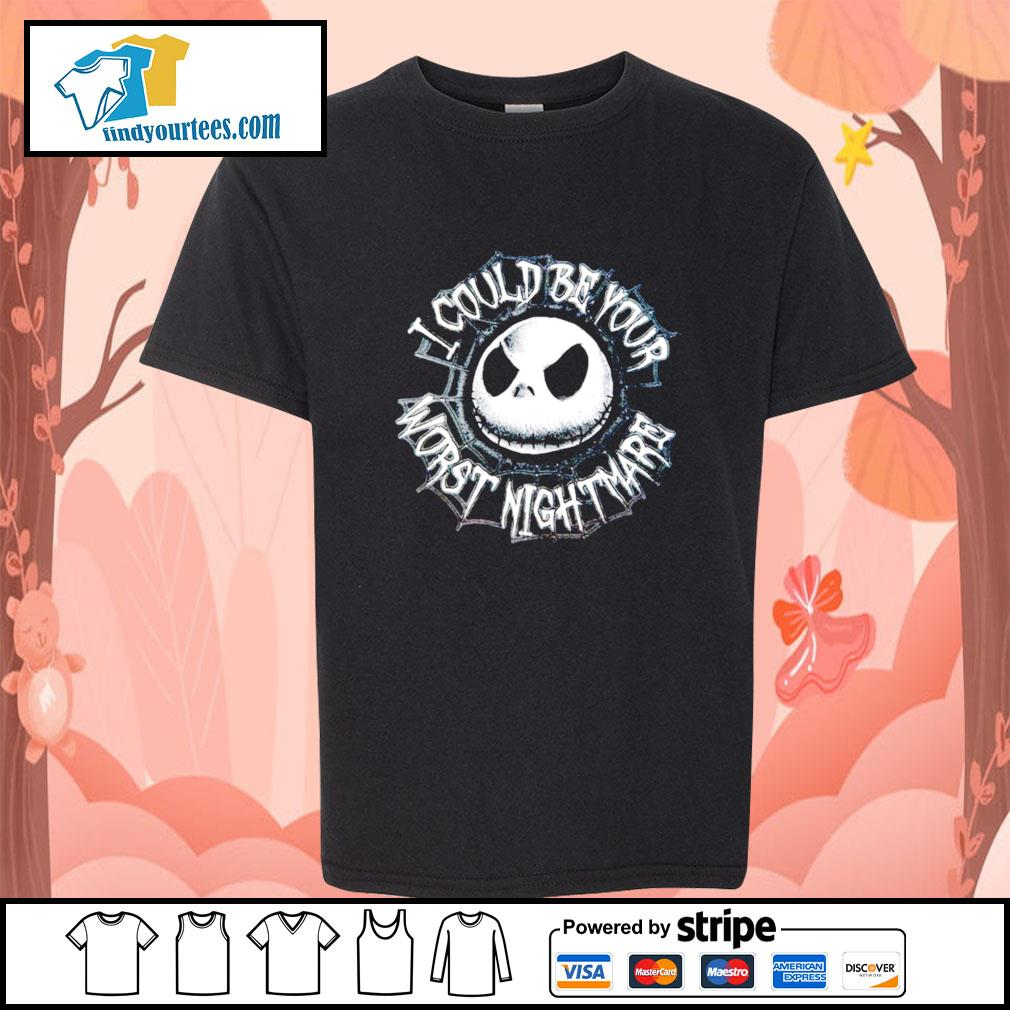 Jack Skellington I could be your worst nightmare s Kid-T-shirt
