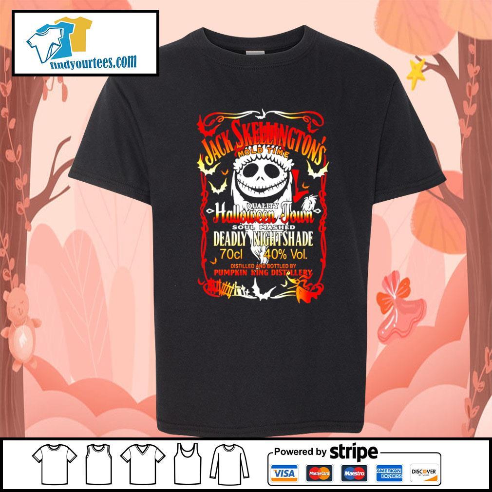 Jack Skellington's mold time quality Halloween town soul mashed s Kid-T-shirt