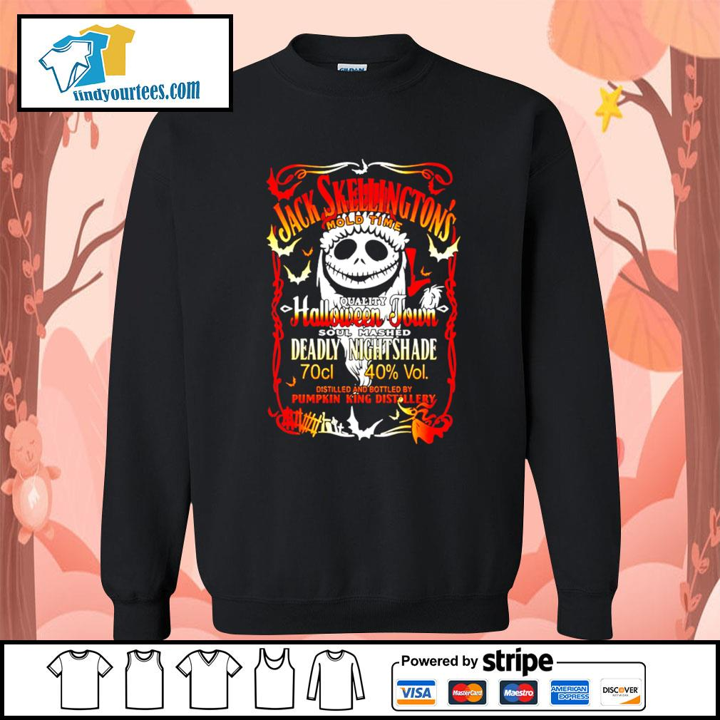 Jack Skellington's mold time quality Halloween town soul mashed s Sweater