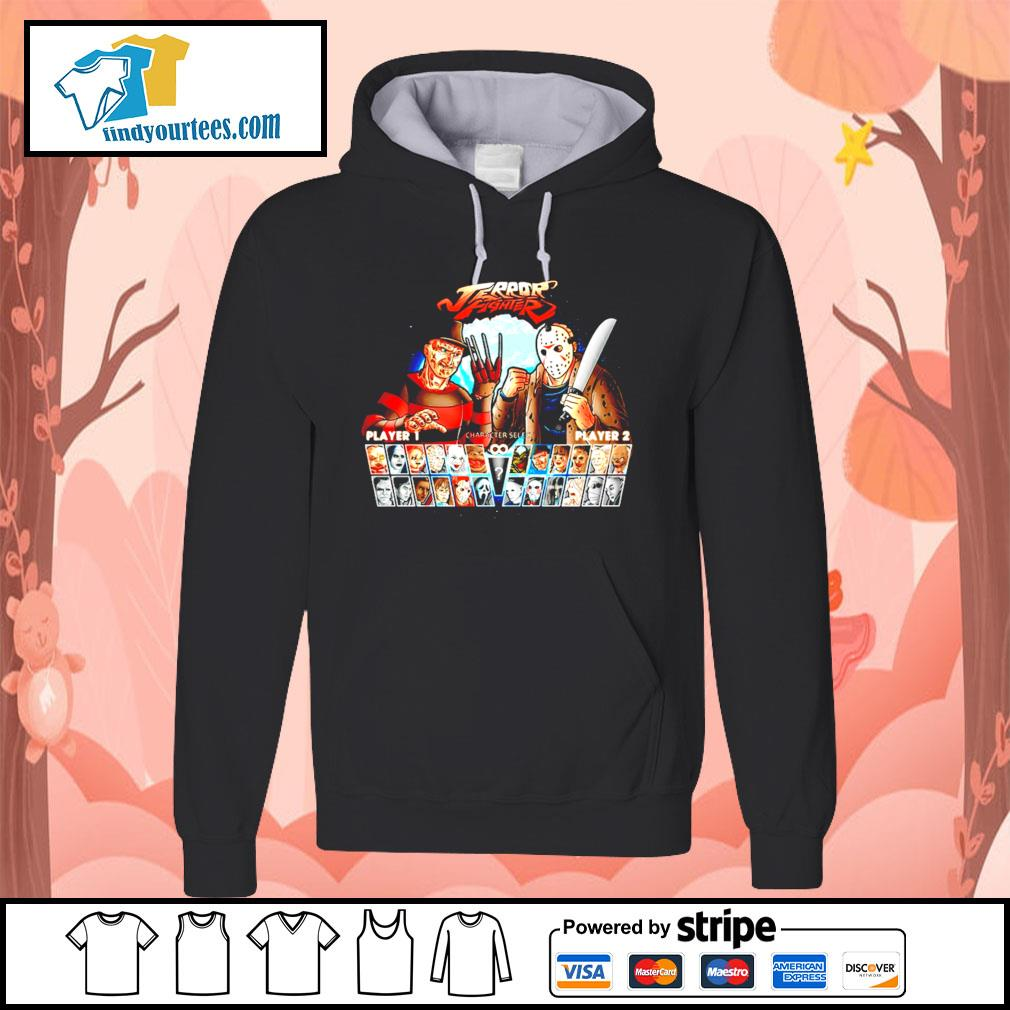 Jason Voorhees and Freddy Krueger Terror fighter s Hoodie