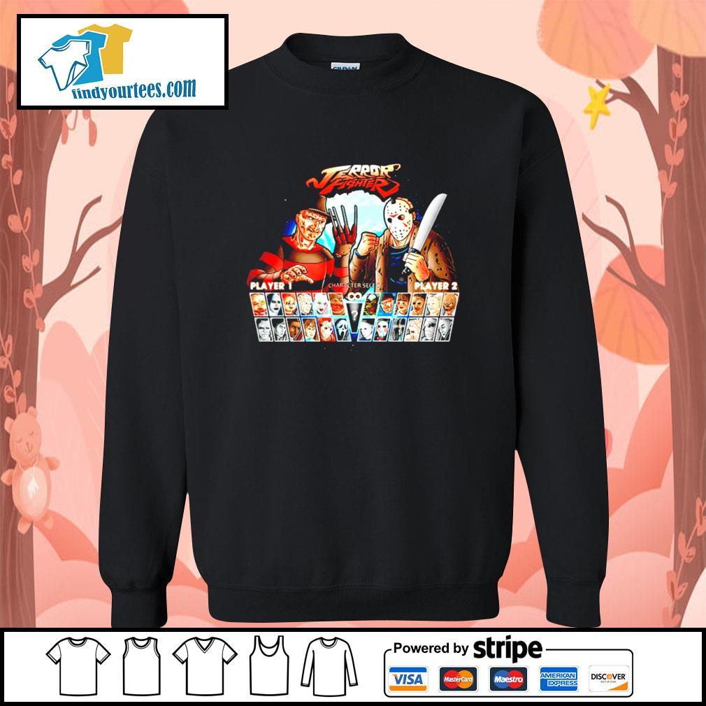 Jason Voorhees and Freddy Krueger Terror fighter s Sweater