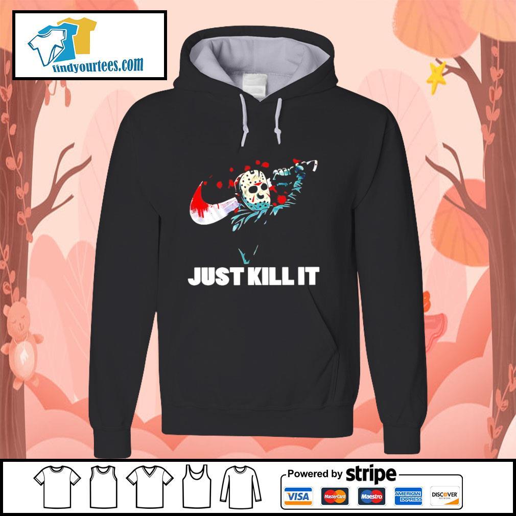 Jason Voorhees just kill it Nike Halloween s Hoodie