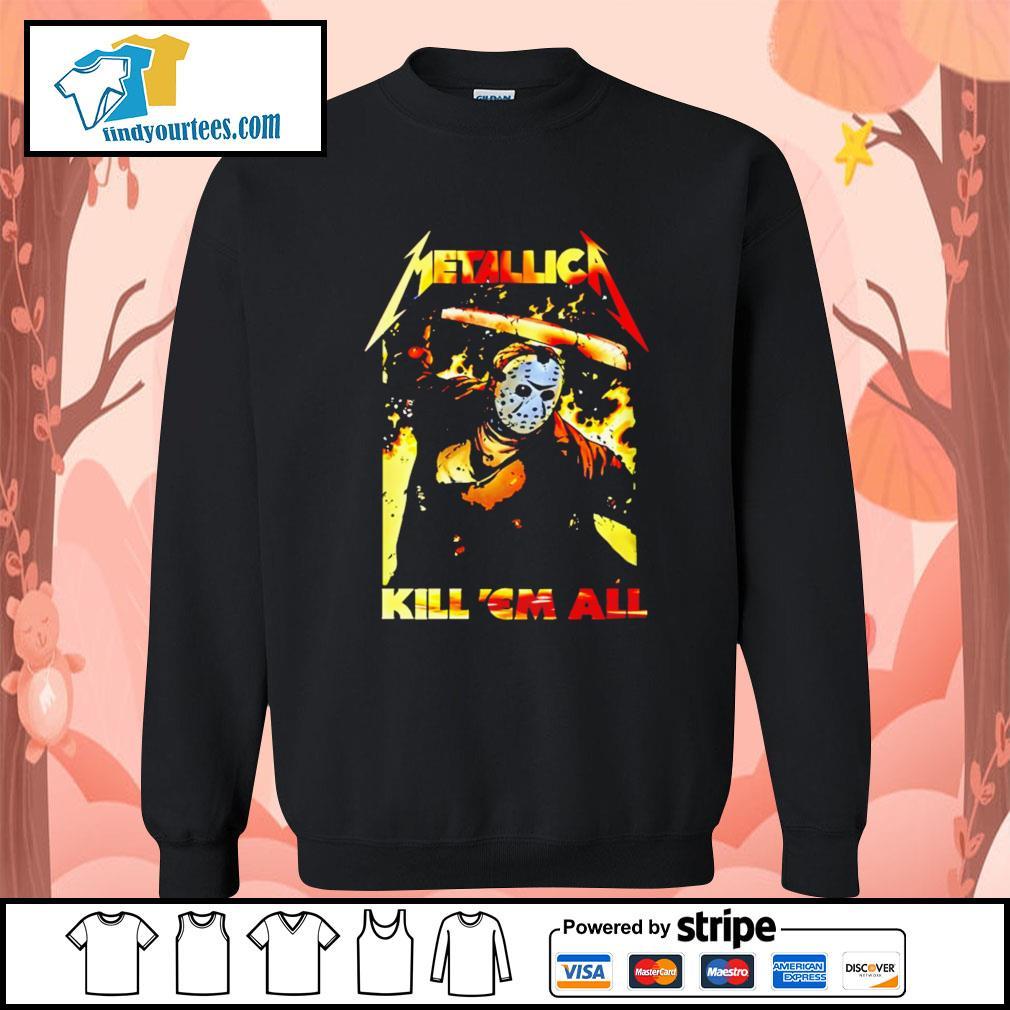 Jason Voorhees Metallica kill 'em all s Sweater