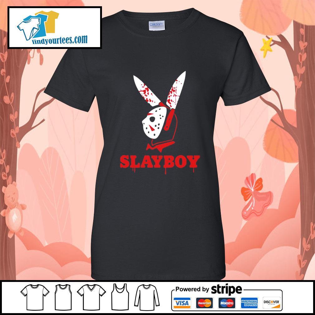 Jason Voorhees Slayboy s Ladies-Tee