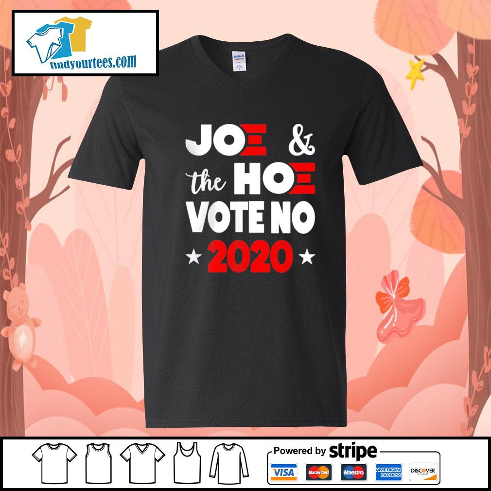 Joe and the Hoe vote no 2020 s V-neck-T-shirt