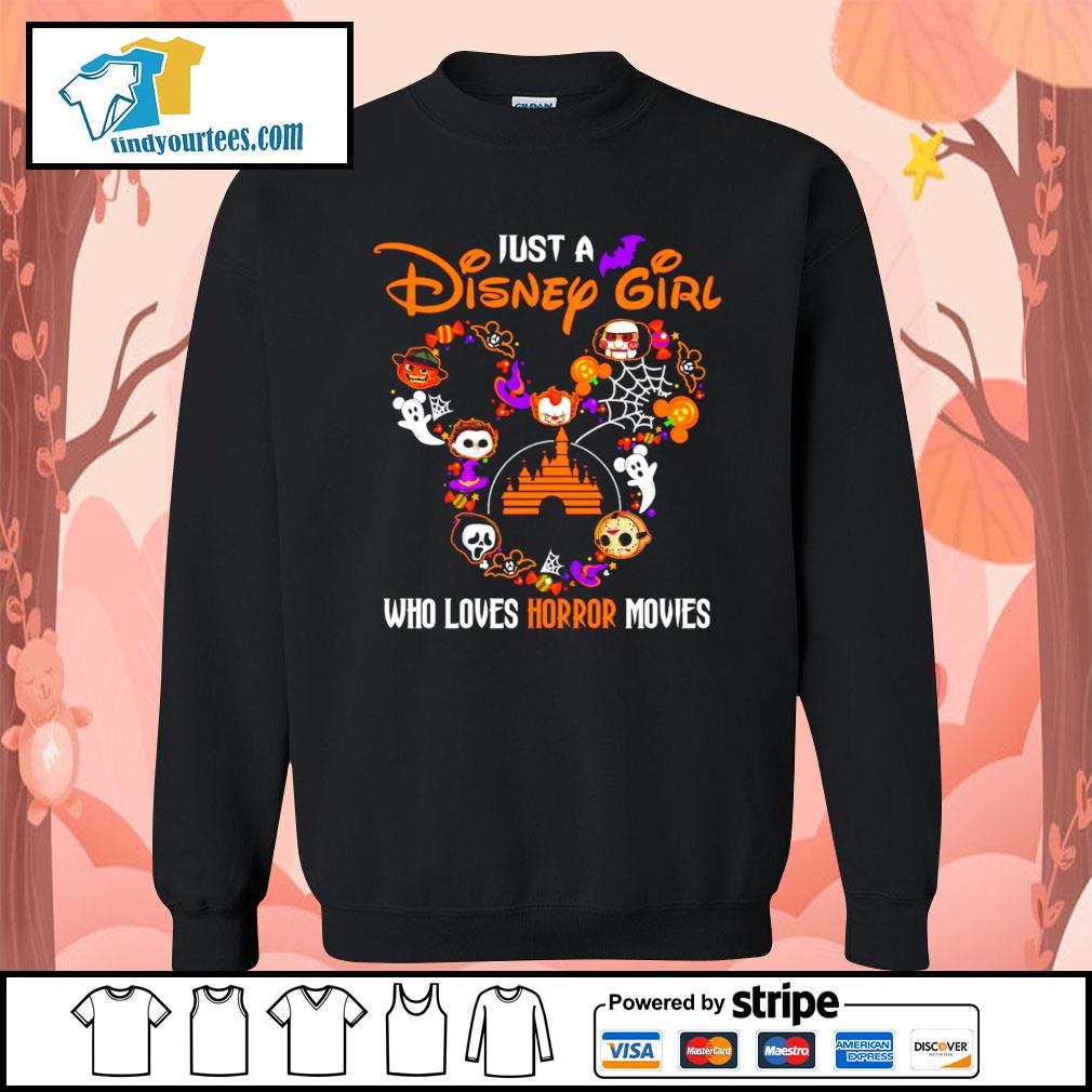 Just a Disney mouse girl who loves Horror movies Halloween s Sweater