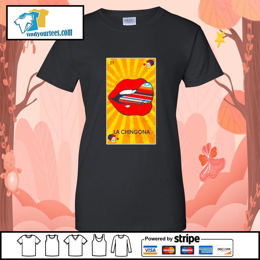 Lip La Chingona OG Ltd s Ladies-Tee