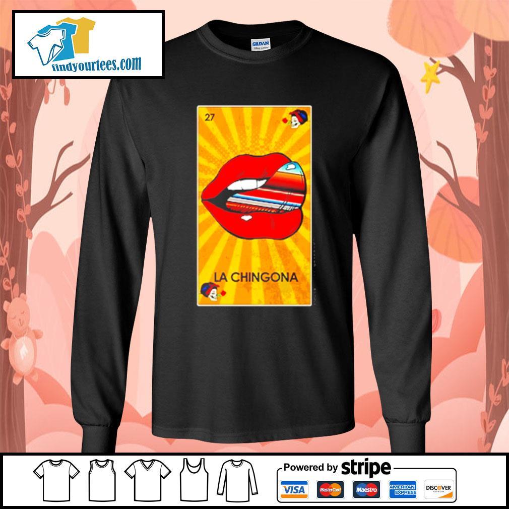 Lip La Chingona OG Ltd s Long-Sleeves-Tee