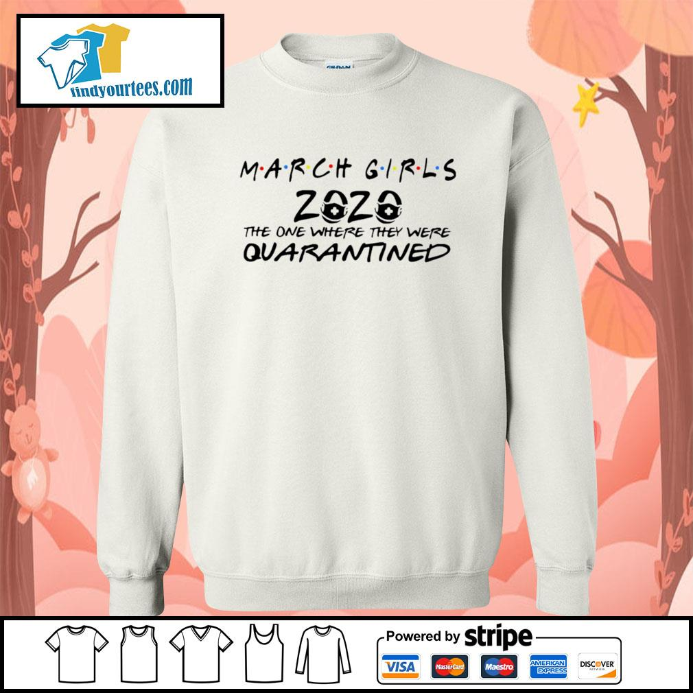 March girls 2020 the one where they were quarantined s Sweater
