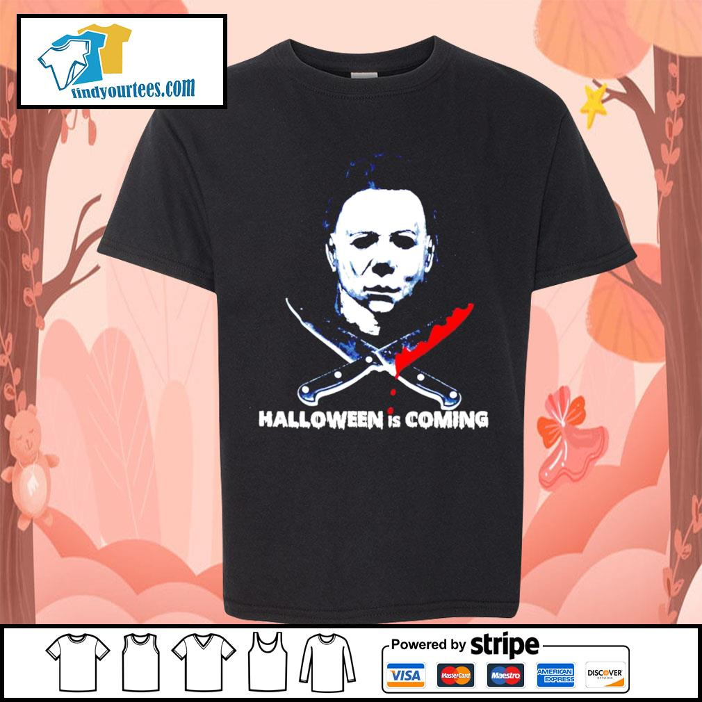 Michael Myers Halloween is coming s Kid-T-shirt