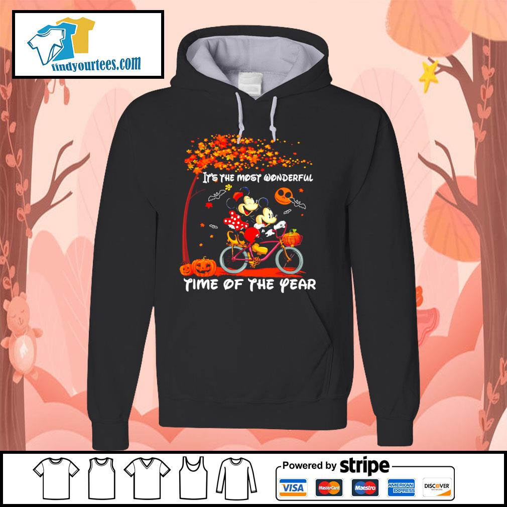 Mickey mouse It's the most wonderful time of the year Halloween s Hoodie